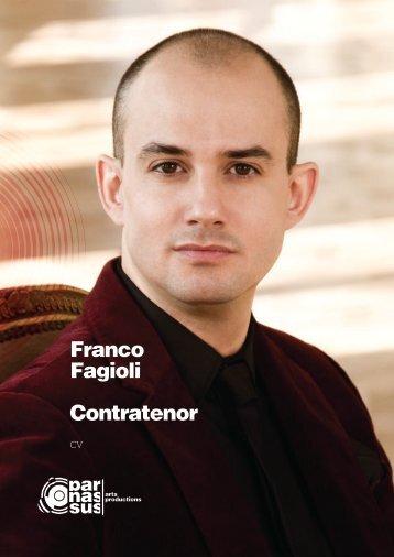 Franco Fagioli Contratenor - parnassus.at