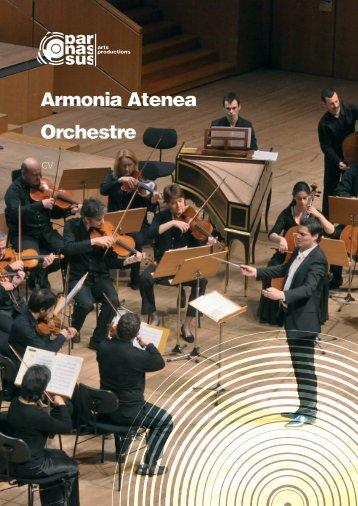 Armonia Atenea Orchestre - parnassus.at