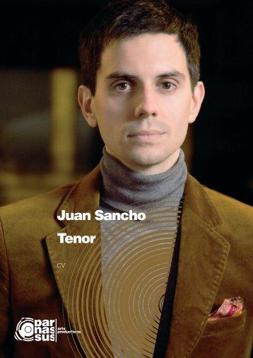 Juan Sancho Tenor - parnassus.at