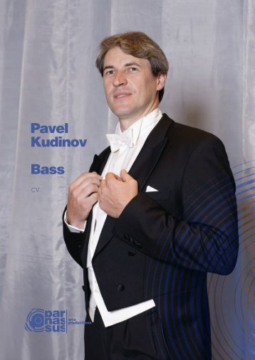 Pavel Kudinov Bass - parnassus.at