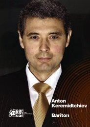 Anton Keremidtchiev Bariton - parnassus.at