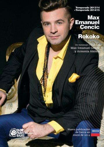 Max Emanuel Cencic Rokoko - parnassus.at