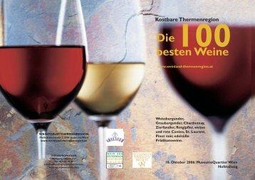 100 Kostbare Thermenregion Die besten Weine