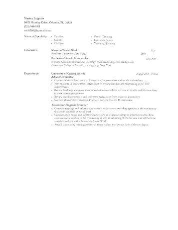 Curriculum Vitae - University of Central Florida
