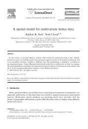 A spatial model for multivariate lattice data - IMAGe