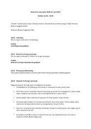 Referat fra styremøte i NESK 24. april 2013 Klokken 16.30 – 18.00