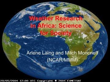 3.9.07 Gates present- laing_moncrief.pdf - UCAR Africa Initiative