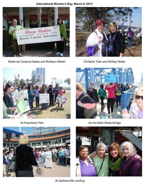 International Women's Day, March 8, 2013 Bobbi de Cordova-Hanks ...