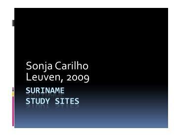 Sonja Carilho Sonja Carilho Leuven, 2009 - SPLU.nl