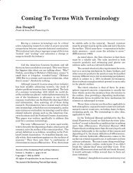 Coming To Terms With Terminology - The Journal of the Swimming ...