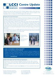 Centre Update - Issue 1.indd - LCCI International Qualifications