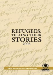 Refugees: Telling Their Stories