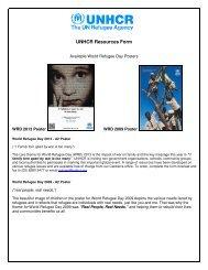 Resource Order Form - unhcr