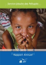 Rapport Annuel 2004 - JRS