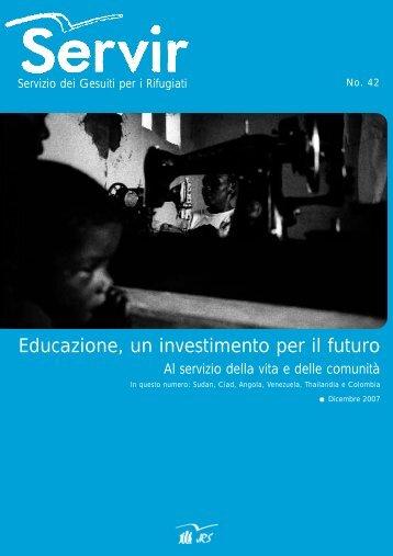 Educazione, un investimento per il futuro - JRS