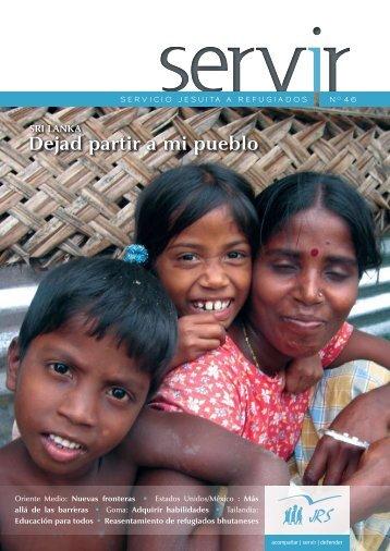 Dejad partir a mi pueblo SRI LANKA - Jesuit Refugee Service
