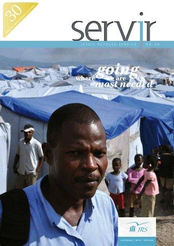 Servir 50 - Jesuit Refugee Service Europe