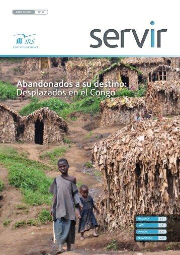 Desplazados en el Congo - Jesuit Refugee Service