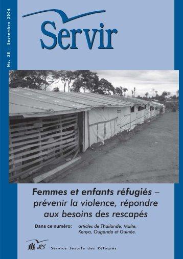 Femmes et enfants réfugiés – prévenir la violence, répondre ... - JRS