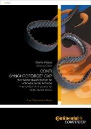 CONTI SYNCHROFORCE® CXP - Pfeifer Industries