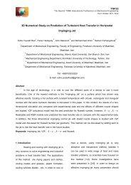 3D Numerical Study on Prediction of Turbulent ... - rcme.engr.tu.ac.th