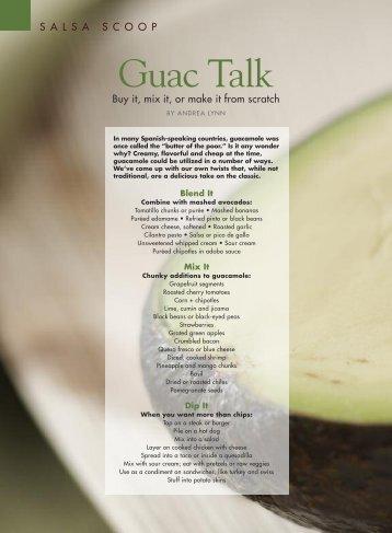 Guac Talk - Andrea Lynn