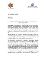 Read more (PDF) - IOM Moldova
