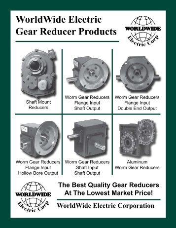 WWE Reducers Catalog - Norfolkbearings.com