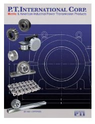 PTI Bearing Catalog - Norfolkbearings.com