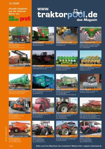 das Magazin WWW. - traktorpool-Magazin - Traktorpool.de