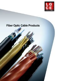 Fiber Optic Cable Products - Lgce.net