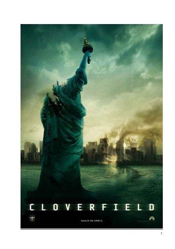 Scarica il pressbook completo di Cloverfield - Mymovies