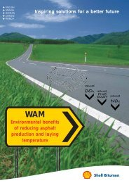 Shell Bitumen - WAM Field Test Results Italy - Inspiring Solutions for ...