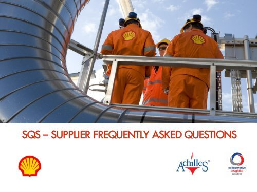 SQS - Supplier Frequently Asked Questions