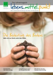 Die Bedeutung des Bodens - information.medien.agrar eV