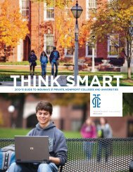 2012-13 guide to indiana's 31 private, nonprofit colleges and ...