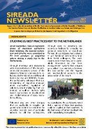 SIREADA NEWSLETTER - IOM Moldova