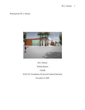 EVOC 637: DL2 - CIS