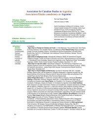 Report - Conseil international d'études canadiennes