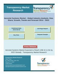 Aerostat Systems Market - Global Industry Analysis, Size, Share, Growth, Trends and Forecast 2014 - 2022