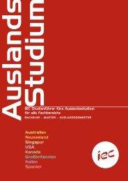 Australien Neuseeland Singapur USA Kanada ... - Universität