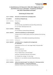Programm - Bundesstiftung zur Aufarbeitung der SED-Diktatur