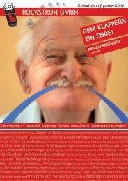Aktionsblatt Antiklapperringe - Rockstroh-Shop