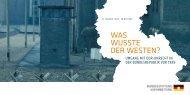 Veranstaltungsflyer [250 KB] - Bundesstiftung zur Aufarbeitung der ...