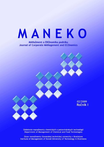 Číslo 2/2009 - Maneko