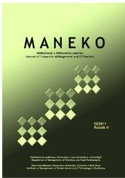 Číslo 2/2011 - Maneko