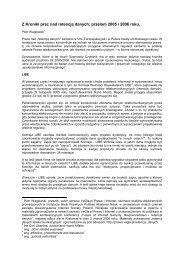 Z Kroniki prac nad retencją danych - VaGla.pl Prawo i Internet