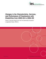 Changes in the Characteristics, Services, and ... - NIUSI Leadscape