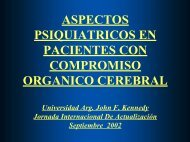 Aspectos psiquiátricos en pacientes orgánicos - Universidad ...