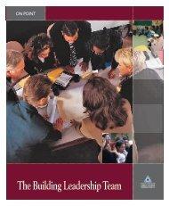 The Building Leadership Team - NIUSI Leadscape